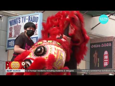 Lion dance in San Francisco's Chinatown goes virtual