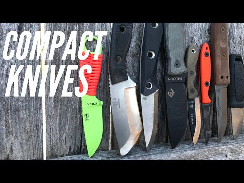 Compact Knives for Bushcraft, Survival, Camping | ESEE, TOPS Knives, Gerber, Ontario Knife Company
