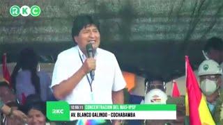 Entrevista Evo Morales RadioKawsachun: El candidato de Perú Pedro Castillo, Runasur de los pueblos..