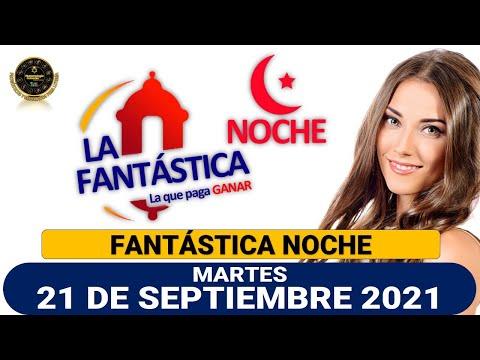 Resultado FANTÁSTICA NOCHE del martes 21 de septiembre de 2021