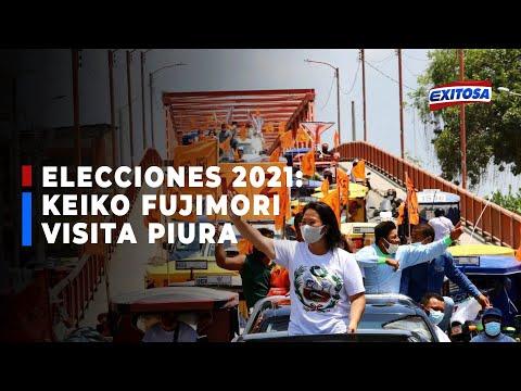 Elecciones 2021: Keiko Fujimori visitará hoy la región de Piura en actividades proselitistas