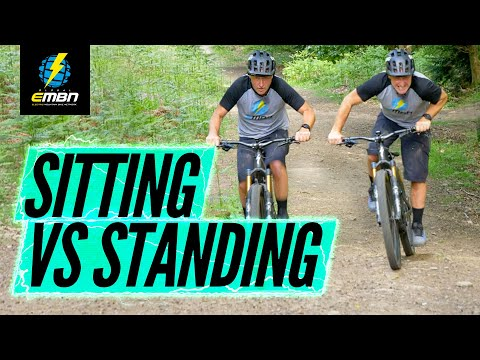 Standing Up Or Sitting Down | Which Is Best For Climbing On An E-MTB?