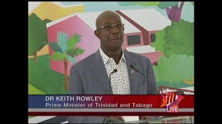 PM Rowley Calls On Fathers To Step Up In Their Children's Lives