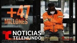 Más de 47 millones han solicitado beneficios de desempleo desde que inició de la pandemia