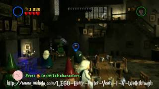 LEGO Harry Potter Walkthrough - Year One: The Magic Begins Part 1