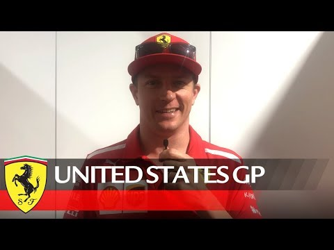 United States Grand Prix - Kimi's message for you!