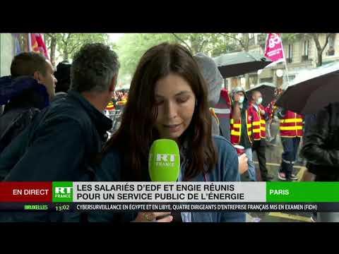 Manifestation contre le Projet Hercule : «Un projet néfaste pour le service public»