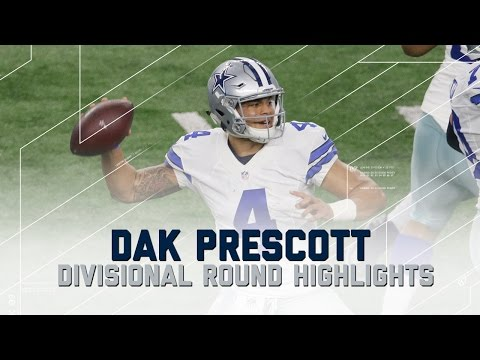 Dak Prescott's 302-Yard, 3 TD Playoff Debut | Packers vs. Cowboys | NFL Divisional Player Highlights