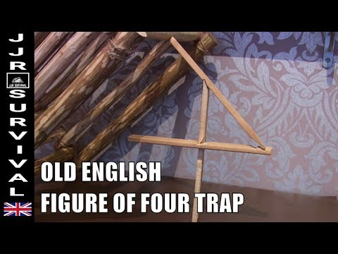 OLD ENGLISH FIGURE OF 4 TRAP