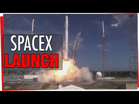 SpaceX Launch & Landing - Falcon 9 With Telstar 19 Vantage