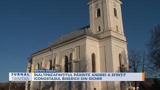 Inaltpreasfintitul Parinte Andrei a sfintit iconostasul bisericii din Sigmir