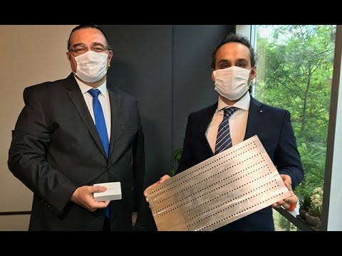 Türkiye'de geliştirildi! Havaya yaydığı titreşimle koronavirüsü etkisiz hale getiriyor