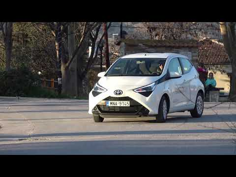 TOYOTA AYGO 2020 review on the go