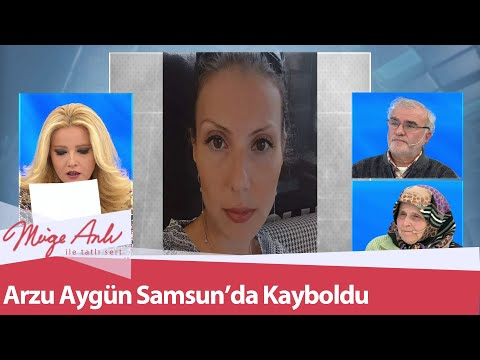 35 yaşındaki Arzu Aygün Samsun'da kayboldu - Müge Anlı İle Tatlı Sert 26 Ocak 2021
