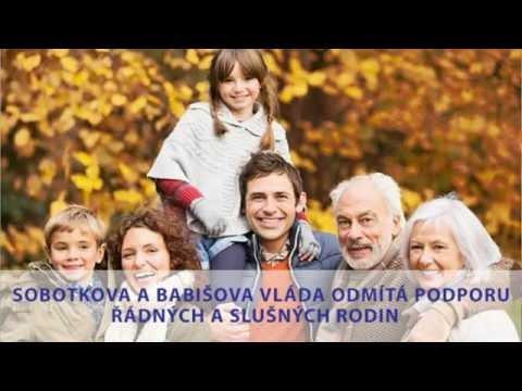 Tomio Okamura: Sobotkova a Babišova vláda odmítá podporu řádných a slušných rodin