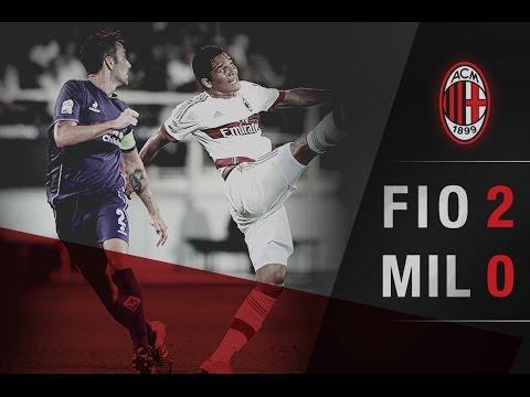 Fiorentina-AC Milan 2-0 Highlights | AC Milan Offi…