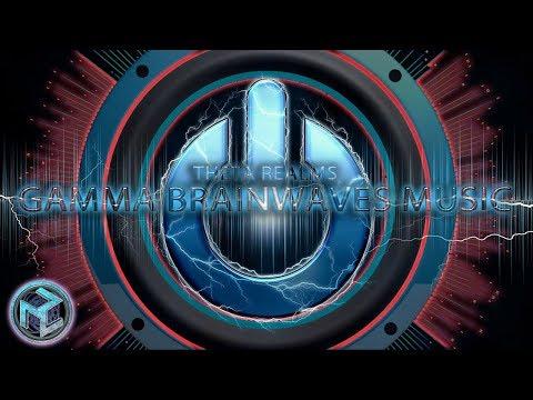 FEEL ALIVE - GAMMA FREQUENCY MUSIC V3: BRAIN CHARGER | Gamma Waves Binaural Beats + Isochronic Tones