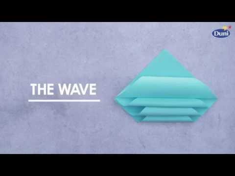 Napkin Folding - Wave