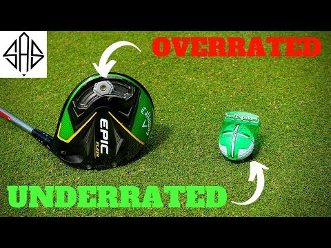 MOST OVERRATED Vs UNDERRATED EQUIPMENT IN GOLF