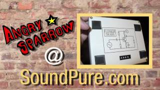 Flickinger Angry Sparrow Guitar Fuzz Pedal
