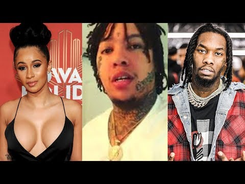 connectYoutube - King Yella Tells Cardi B & Offset He'll Smack Both of Them after She Exposed Their Phone Call