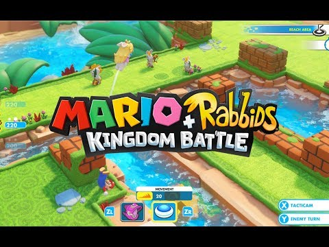 Mario & Rabbids Kingdom Battle Gameplay
