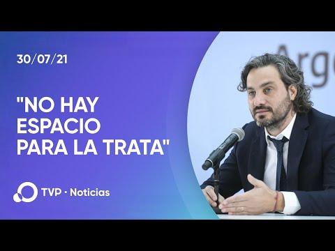 En la Argentina no hay espacio para la trata de personas, dijo Cafiero