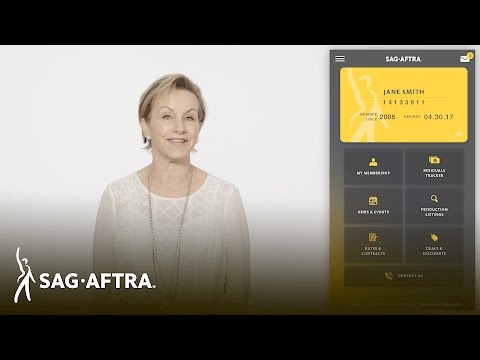 President Gabrielle Carteris Introduces the New SAG-AFTRA Member App