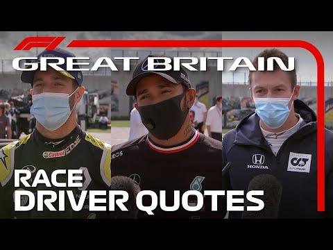 2020 British Grand Prix: Post-Race Driver Reaction