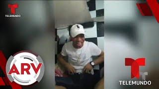 Un preso muestra sus comodidades y forma de diversión en prisión   Al Rojo Vivo   Telemundo