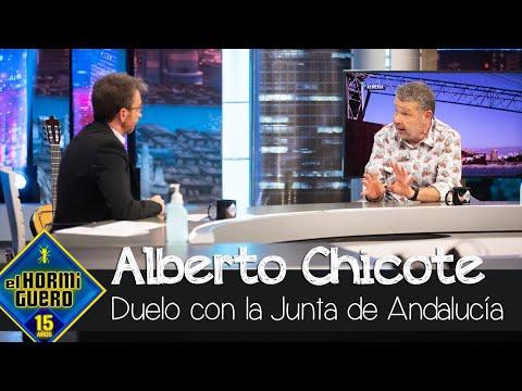 Alberto Chicote contra la Consejera de Agricultura de la Junta de Andalucía – El Hormiguero