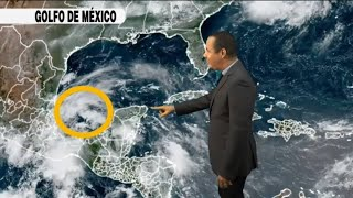 Fin de semana con escenario de lluvias •Llega algo de polvo africano •Posible ciclón en formación