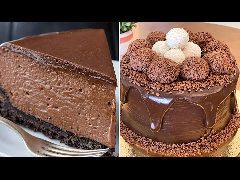 Perfect and Yummy Chocolate Cake Ideas Everyone Can Make | Yummy Chocolate Cake Decoration