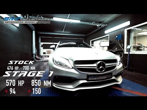 Mercedes C63 AMG Coupé Stage 1 By BR-Performance