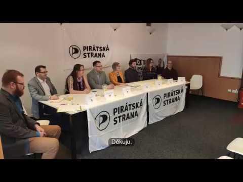 Tisková konference 11.2.2020 - představení čela kandidátky pro krajské volby