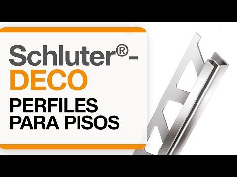 Cómo instalar una transición de baldosas en pisos: Schluter®-DECO
