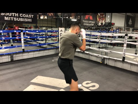 Jose Ramirez 140 king live workout