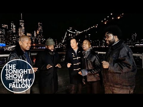 "Jimmy Fallon and The Roots Sing ""In the Still of the Night"" (Sneak Peak)"