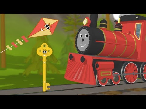 Trenulete - Descopera litera K cu trenuletul Shawn