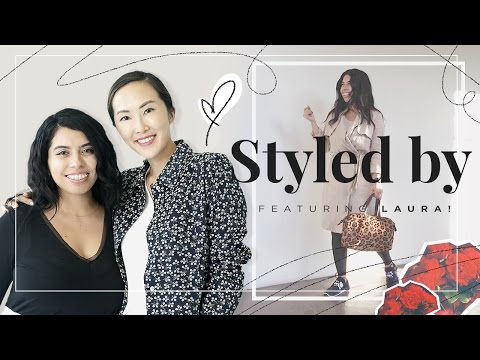 Styled by Chriselle | Spring Outfits for Curvy Girls ft. Laura
