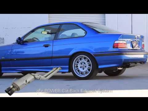 aFe POWER BMW M3 (E36) Mach Force XP 304SS Exhaust System Sound Clip