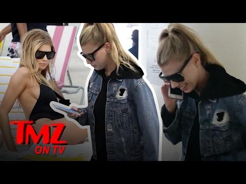 Charlotte McKinney Has A Nip Slip | TMZ TV