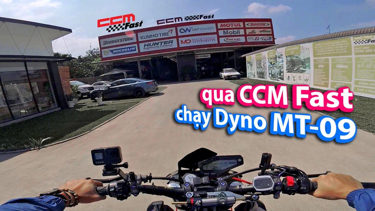 Đem Yamaha MT 09 đến CCM Fast để test Dyno