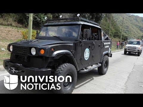 connectYoutube - Militares venezolanos destruyen la casa en la que fue abatido el expolicía Óscar Pérez