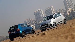 Maruti Ignis vs Hyundai Grand i10 | Comparison Review | ZigWheels