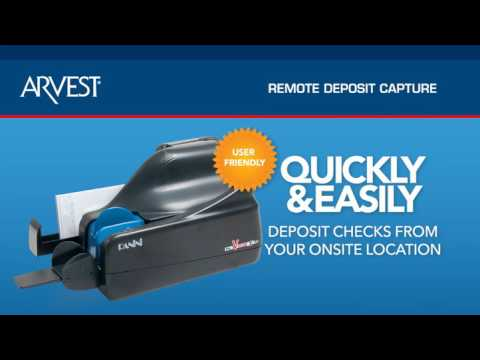 Arvest Bank Remote Deposit Capture