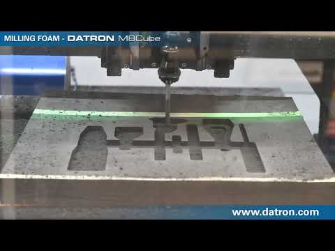 Cutting Custom Foam Inserts for Packaging with DATRON CNC Mill