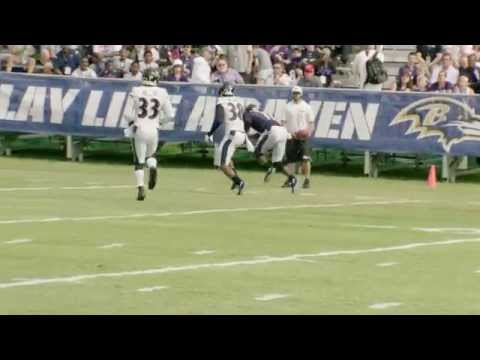 Top Play: Kamar Aiken Catches Long Bomb In Slow Mo