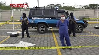 ????#ULTIMAHORA Dirección de Auxilio Judicial  - Conferencia de prensa de la Policía Nacional