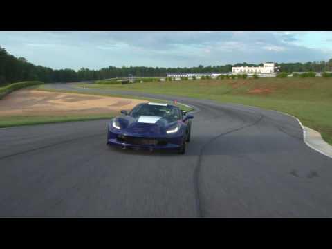 Corvette Grand Sport: power on track